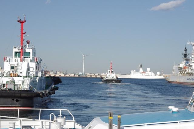 Yokohama kanagawa japan port.