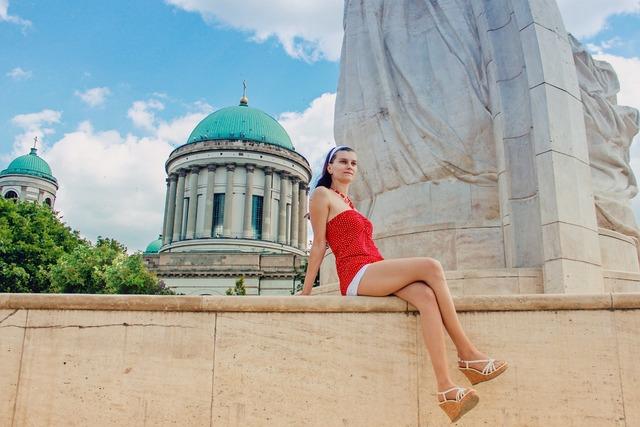 Young woman woman summer, beauty fashion.