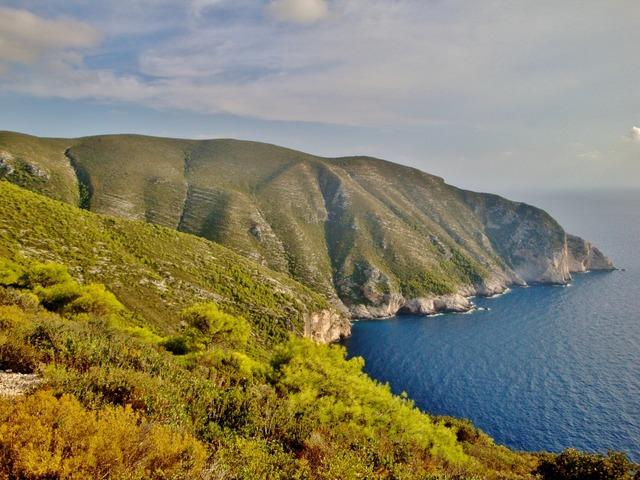 Zakynthos sea bay.