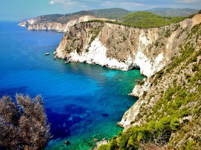 Zakynthos sea rocks.