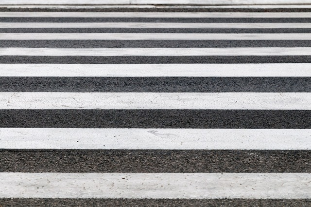 Zebra crossings road, transportation traffic.