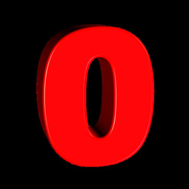 Zero number 0.