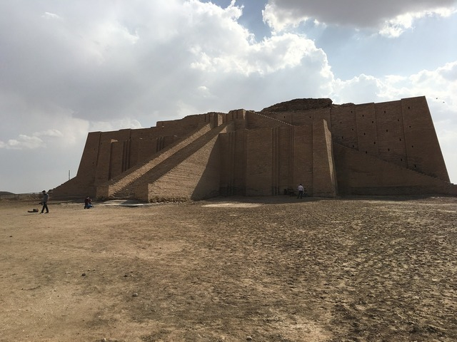 Ziggurat iraq old, architecture buildings.