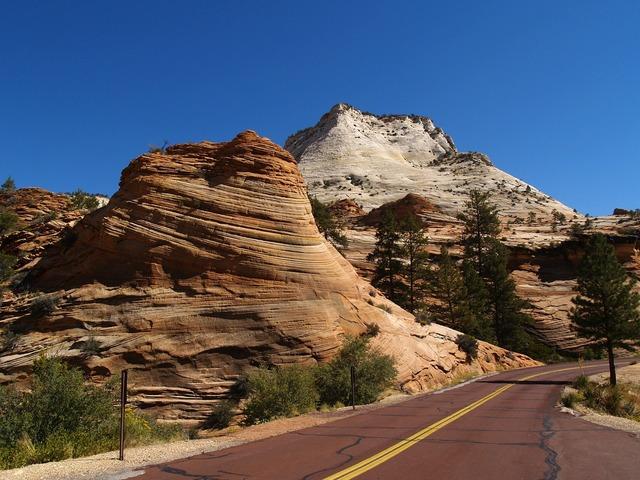 Zion national park utah usa.