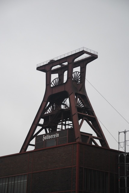 Zollverein headframe ruhr area, industry craft.