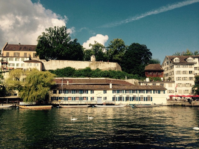 Zurich lindenhof switzerland.