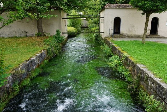 Zwiefalten bach water, nature landscapes.