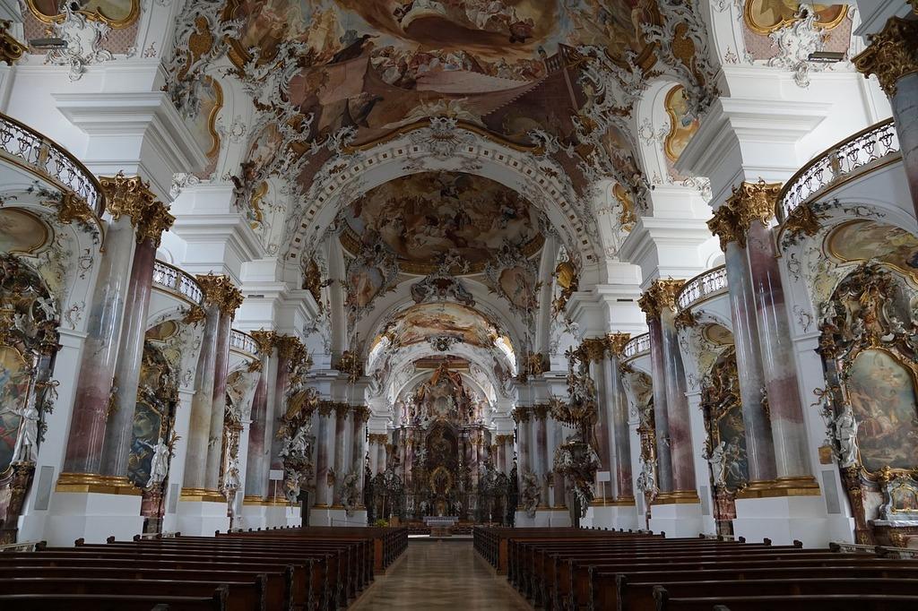 Zwiefalten church monastery, religion.